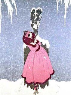 Erte-Romain-de-Tirtoff End-of-Romance-1981