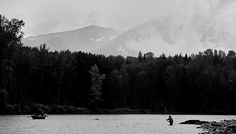 fishing photography black and white - Google Search