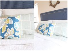 Our Company Organic Textura Percale Bedding on Danielle Oakey Interiors