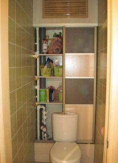 Картинки по запросу шкаф-купе в туалете фото