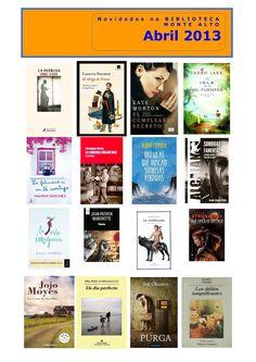 Libros para adultos na biblioteca de Monte Alto.