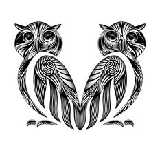 Just found my next tattoo a pair of mandala owls I love mandala and I love owls lets combine. Front thighs or middle shoulder blades