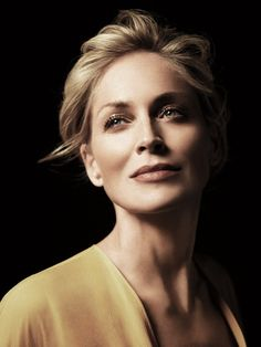 Crossing your legs can be a Talent....Sharon Stone by Alexi Lubomirski