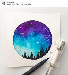 Formato circular identity in 2019 watercolor paintings, art Watercolor Galaxy, Galaxy Painting, Galaxy Art, Watercolor Drawing, Painting & Drawing, Watercolor Paintings, Watercolor Ideas, Body Painting, Galaxy Drawings