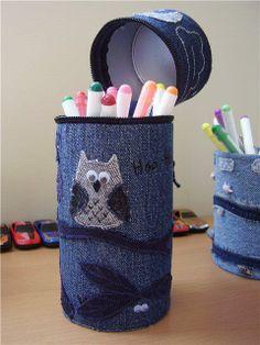 Recycled Denim / Tolle Seite mit sehr vielen Ideen für die Verwendung von alten Jeans
