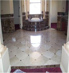 marble floor - Yahoo Image Search Results Marble Floor, Tile Floor, Phoenix Arizona, Tile Design, Foyer, Bathroom Ideas, Image Search, Flooring, Google Search