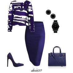 A fashion look from September 2015 by doris610 featuring C/MEO COLLECTIVE, Charlotte Russe, Kurt Geiger and Movado