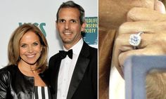 Get engagement ring inspiration from your favorite celebrity couple by browsing the gallery of celebrity engagement ring photos from deBebians. Celebrity Engagement Rings, Engagement Ring Photos, Celebrity Couples, Diamond Engagement Rings, Katie Couric, Celebrities, Fashion, Wedding Rings, Celebs
