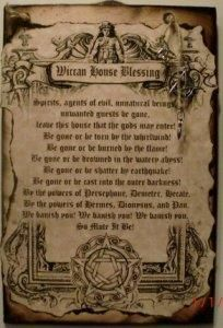 Wiccan House Blessing