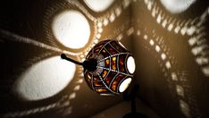 100% HANDMADE Gourd lampKürbislampe handcrafted Ottoman