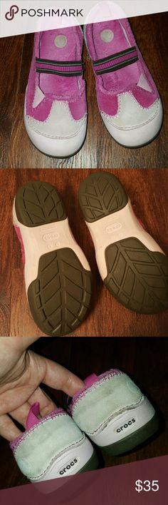 Soft plush Luxo Crocs size 2 Rarely worn Excellent condition size 2 Girls crocs CROCS Shoes