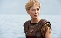 clash of the titans, Andromeda- Rosamund Pike. Never saw the movie but I like her armor.