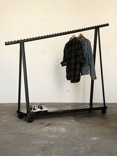 Fancy - Clothing Rack on Casters | Strawser & Smith
