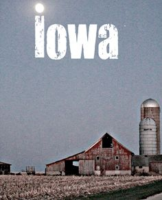Iowa. Some dream of NYC and California. We dream of tractors, land, and a bug front porch.