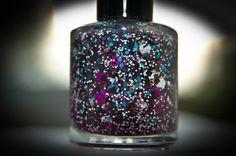 Berryeed Treasure Nail Polish Custom blended Glitter by andeevie  (Naild'it)
