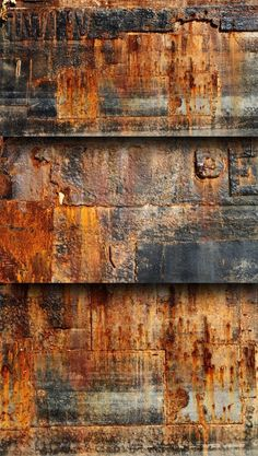 Rust Texture - Bing high-quality-rust-and-grunge-texture Rust Texture, Texture Art, Visual Texture, Door Texture, Metal Texture, Natural Texture, Wabi Sabi, Rusted Metal, Metal Art