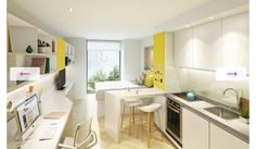 Looking for student accommodation in Cambridge? Student Castle offers high quali… Looking for student accommodation in Cambridge? Student Bedroom, Student Apartment, Student Living, Student House, Cambridge Student, Creative Kids Rooms, Student Dormitory, Studio Room, Contemporary Interior
