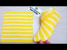 Aprende a tejer -Botas de mujer súper fáciles básicos de punto: Botines de mujer de ganchillo - YouTube