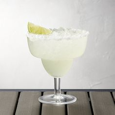 Stacking Acrylic Margarita Glass | Crate and Barrel