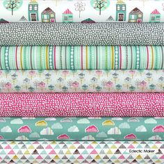 Wendy Kendall Fabric Pack Petite Street in Teal