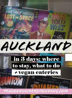 How to spend 3 days in Auckland - things to see, places to stay, vegan friendly places to eat