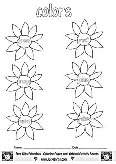 math worksheet : 1000 images about ready for kindergarten on pinterest  learning  : Colour Worksheets For Kindergarten