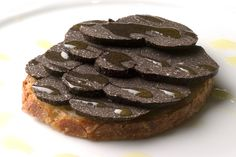Eric Ripert's Foie Gras and Shaved Black Truffles on Country Bread