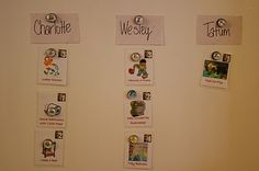Chore Chart - Free Printable Chore Cards