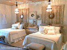 Vintage little girl's room by Be Book Bo - http://myshabbychicdecor.com/vintage-little-girls-room-by-be-book-bo/ - #shabby_chic #home_decor #design #ideas #wedding #living_room #bedroom #bathroom #kithcen #shabby_chic_furniture #interior interior_design #vintage #rustic_decor #white #pastel #pink