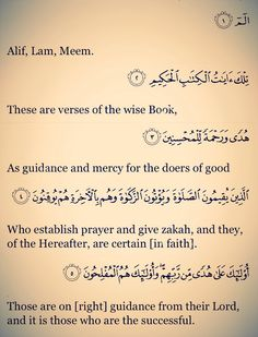 Who are the successful? If we just recite and  ponder upon the meanings of these Ayats , we will have understood , who are the faithful, the faithless, and What is Quran all about.