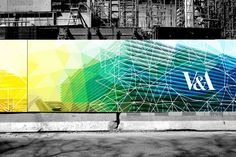 V&A museum construction hoarding concept on Behance