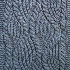 Ravelry: Brioche and Traveling Cable Turtleneck Scarf pattern by Linda Lehman