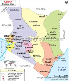 To your right is a kenya map covering all the major national parks kenya map gumiabroncs Image collections