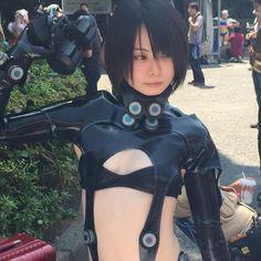 「Wonder Festival 2015夏」超露出Coser 《Gantz》卷頭女角 | GameOver HK