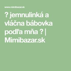 ♥ jemnulinká a vláčna bábovka podľa mňa ♥   Mimibazar.sk Math Equations