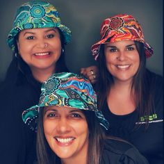 Bucket Hat Designs By Dezigna Impression. Artwork - Our Journey by Elaine  Chambers 12a3fa580b3