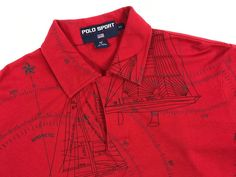 Vintage 1991 Polo Ralph Lauren Sport M Yachting AnNual Challenge Shirt  #PoloRalphLauren #PoloRugby #Casual