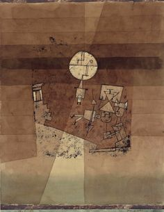 Paul Klee Moon play, 1923