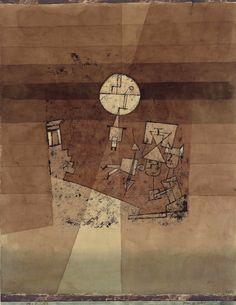Paul Klee Moon play, 1923
