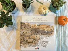Sarah J. Loecker :Today I offer a glimpse into another beautiful book I bought in Italy. In this book Fabrice Moireau sketches and draws his way through the Basilicata region of southern Italy. It is a wonderful book to add to any art library. Fabrice Moireau, Southern Italy, Sarah J, Urban Sketching, Light And Shadow, Book Reviews, Beautiful Landscapes, My Books, This Book