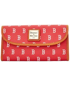 Dooney & Bourke Boston Red Sox Large Continental Clutch