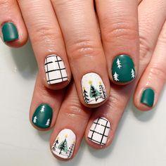 Holiday Nails, Christmas Nails, Gel Nails, Nail Polish, Cute Nail Designs, Little Birds, Love Nails, Winter Nails, Nail Inspo