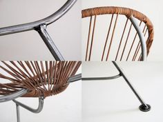 Merveilleux Acapulco Chair In Leather From Greenpointworks | Acapulco Chair, Acapulco  And Wicker Chairs
