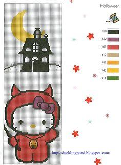 131 Best Hello Kitty Perler Designs Images On Pinterest