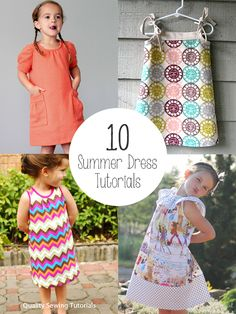 Quality Sewing Tutorials: 10 Summer Dress Tutorials