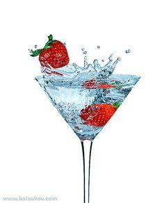 Strawberry splash