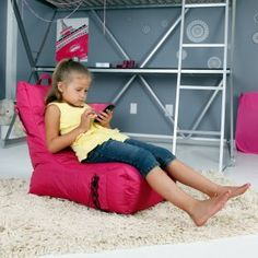 Smart Max Video Bean Bag Lounger Chair Outdoor Via Bags
