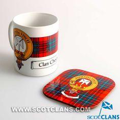 Cheyne Clan Crest Mu