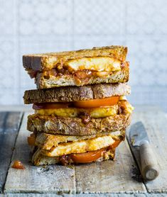 Try our halloumi toastie recipe with harissa and honey. Check out our easy toasite twist on classic cheese toastie. Try this easy toastie recipe with cheese Halloumi Cheese Recipes, Cooking Halloumi, Rose Harissa, Cheese Toasties, Toast Sandwich, Cuban Sandwich, Frozen, Best Cheese, Cafe Food
