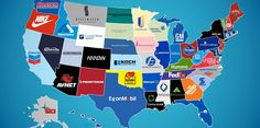 This animated map shows the largest company by revenue for every state @BI_Video http://read.bi/1B58VpZ